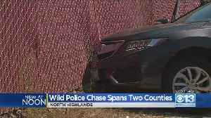Wild Police Chase Spans Two Counties [Video]