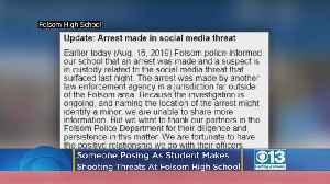 2 Folsom High Students Targeted In Threat Posted To Social Media By Person Impersonating Student [Video]