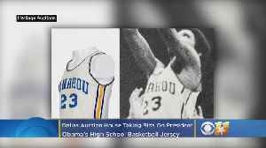 Dallas Auction House Taking Bids For President Obama's HS Basketball Jersey [Video]