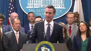 RAW: California Governor Gavin Newsom Talks About New Suit Filed Against Trump Administration [Video]