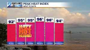Heat and Humidity Surge This Weekend [Video]
