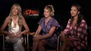 Corinne Foxx, Sistine Stallone On '47 Meters Down: Uncaged' [Video]