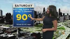 Philadelphia Weather: 90s Over The Weekend [Video]