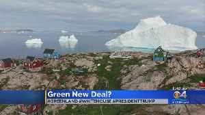 WEB EXTRA: President Trump Interested In Acquiring Greenland [Video]