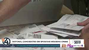Mayoral candidates respond to Spokane housing crisis [Video]