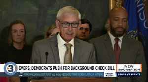 Evers, Democrats offer gun background check bill [Video]