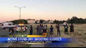 Police standoff continues at Murphy Commons in Chico [Video]