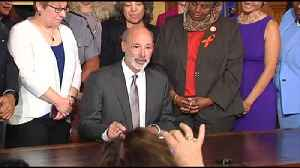 VIDEO Gov. Wolf signs executive order aimed at addressing gun violence [Video]
