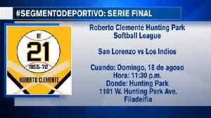 Final de la Liga Roberto Clemente Hunting Park