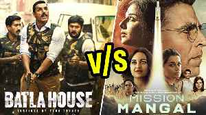 Akshay Kumar V/s John Abraham | Mission Mangal V/s Batla House At The Box Office [Video]