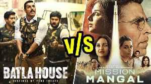 News video: Akshay Kumar V/s John Abraham | Mission Mangal V/s Batla House At The Box Office