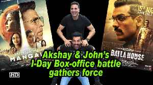 Akshay & John's I-Day Box-office battle gathers force [Video]
