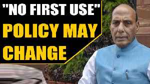 'No First Use' policy may change, says Rajnath Singh on India's defence strategy [Video]