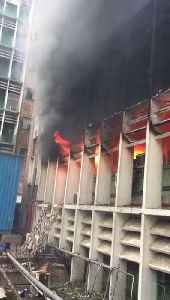Fire breaks out in AIIMS, under control now (Part - II) [Video]