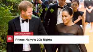 Prince Harry's Trips Are Expensive [Video]