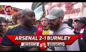 Arsenal 2-1 Burnley | David Luiz Was Confident & Lead From The Back! (Turkish) [Video]