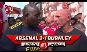 Arsenal 2-1 Burnley  | Pepe Is Still A Long Way Off Fitness! (Lee Judges) [Video]