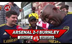 Arsenal 2-1 Burnley | Can We Beat Liverpool? (Robbie Asks Fans) [Video]