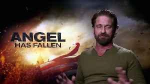 ANGEL HAS FALLEN: Gerard Butler not keen to do more rom-coms [Video]
