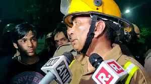 Fire at AIIMS, Delhi [Video]