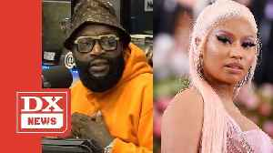 Rick Ross Responds To Nicki Minaj's 'Sit Your Fat Behind Down' Comment [Video]