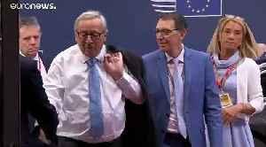 EU chief Jean-Claude Juncker cuts holiday short for 'urgent surgery' [Video]