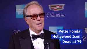'Easy Rider' Star Peter Fonda Has Died [Video]