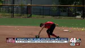 Study shows more young athletes calling it quits, U.S. Olympic Committee concerned [Video]