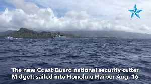 New Coast Guard national security cutter arrives in Honolulu [Video]