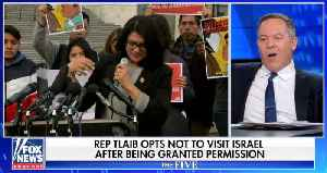 Greg Gutfeld: Rashida Tlaib's Israel 'stunt' used grandma as 'Trojan horse' [Video]