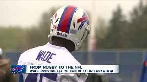 News video: Christian Wade follows unique path to the NFL