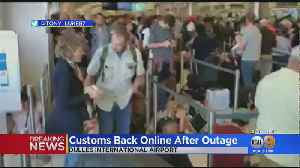 US Customs Computer Outage Causes Delays At LAX, Airports Nationwide [Video]