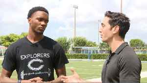 CBS4 Nat Moore Trophy Profile: Christopher Columbus WR Xzavier Henderson [Video]