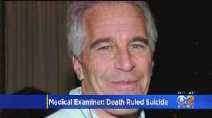 NYC Medical Examiner: Epstein's Death Ruled Suicide By Hanging [Video]