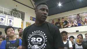 Oakland's Own Will Cherry Returns to The Town for Warriors Basketball Camp [Video]