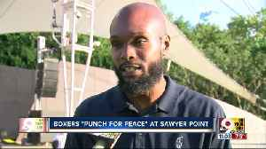 Young boxers 'Punch for Peace' at Sawyer Point [Video]