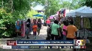 Black Family Reunion continues Saturday [Video]