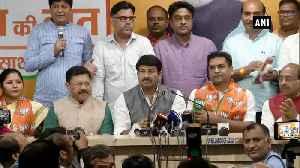 News video: Former AAP leader Kapil Mishra joins BJP