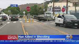 1 Man Dead, 1 Injured In Montecito Heights Shooting [Video]