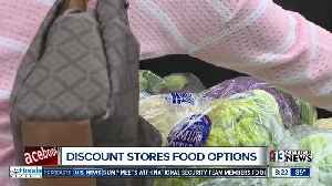 Discount store food options [Video]