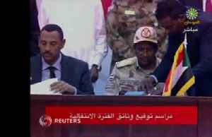 Sudanese factions sign accord on transitional government [Video]