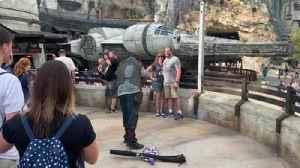 Disney World passholders begin to explore Star Wars Galaxy's Edge [Video]