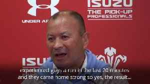 Eddie Jones and Warren Gatland pleased with squads after World Cup warm-up games [Video]