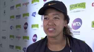 News video: Naomi Osaka Nursing Knee Injury Days Before US Open