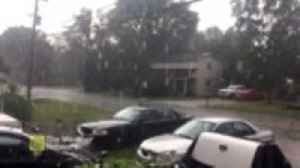 Heavy rain and hail hits Ontario as storm moves overhead [Video]
