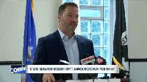 New York Senator Robert Ortt announces run for NY-27 [Video]