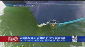 Captain Of Boston Ferry That Ran Aground Placed On Leave [Video]