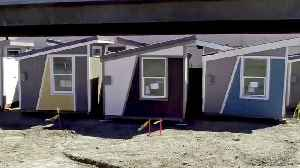 Tiny-Home Developments in San Jose Offer Alternative to Homelessness [Video]