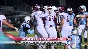 Fort Wayne Native Deontae Craig Commits to Iowa [Video]