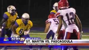 High School Football: St. Martin vs. Pascagoula Jamboree Game [Video]